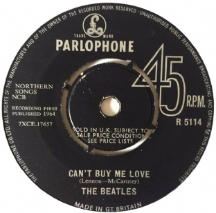 "Beatles (The) ‎- Can't Buy My Love (7"") (F/NM)"